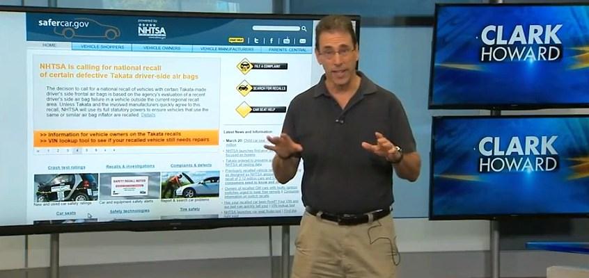 Get notified for auto recalls on your model - Clark Howard