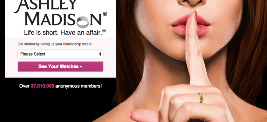 Hackers stole data from a website that helps married people cheat