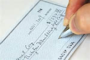 Why you should never issue a post dated check
