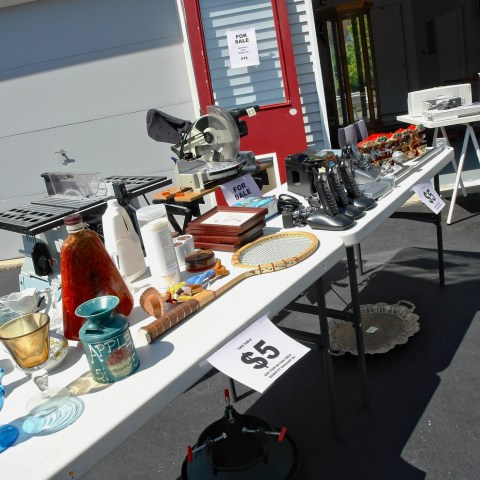 7 ways to make more from garage sales