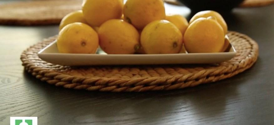 5 ways to use lemons around the house