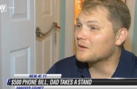 Dad takes teen's belongings hostage after cell phone bill