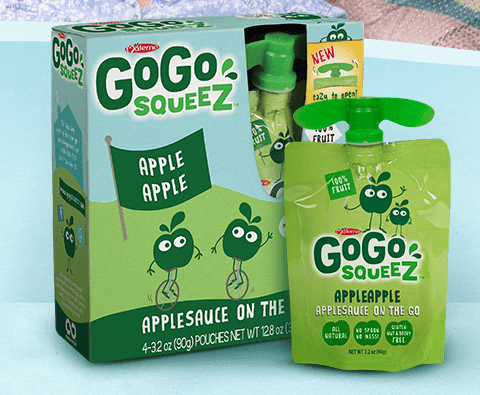 Recall: GoGo Squeez applesauce pouches may contain mold