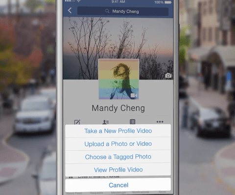 Facebook adds new video profile feature
