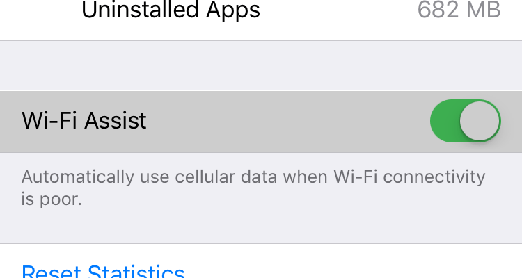 iPhone user says 'Wi-Fi Assist' feature resulted in $2,000 bill