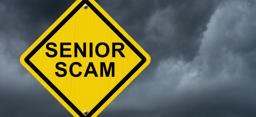 There is a good chance an elderly person in your life is being financially scammed