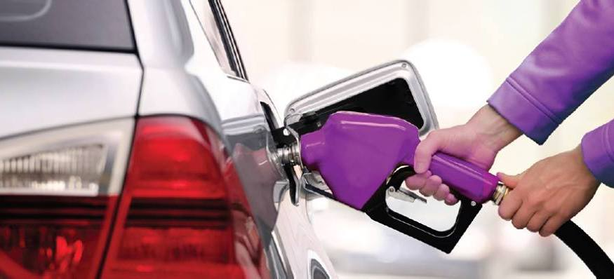 Purple is an on-demand app that comes to fill up your gas tank