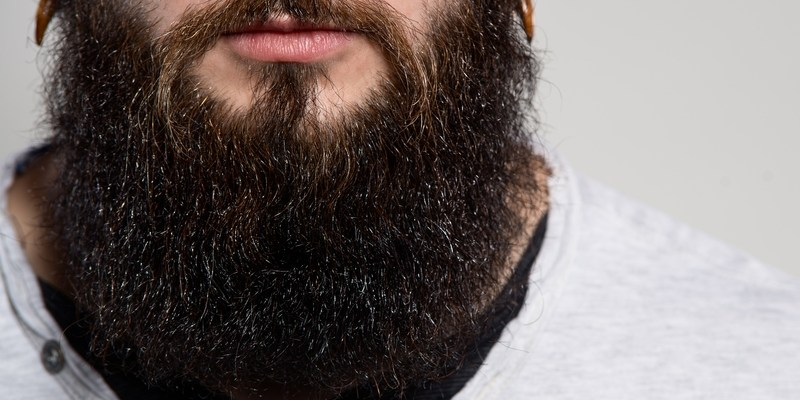 Do beards contain fecal matter?