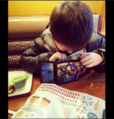 """Boy treats mom to monthly """"˜dinner date' with allowance money"""
