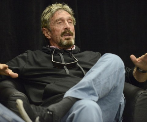 John McAfee offers to break an iPhone's encryption for the FBI