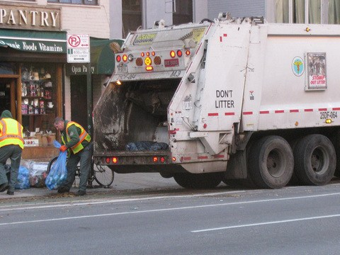 Meet the garbagemen who make over $100,000 a year