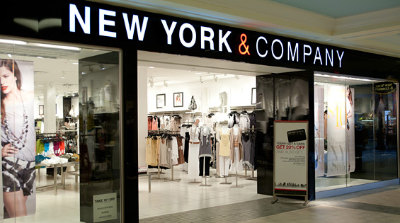 New York & Company is converting 50 locations into outlet stores