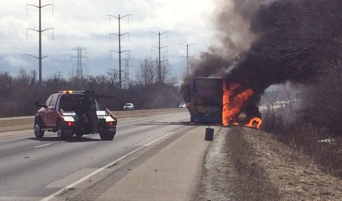 Megabus fights with passengers over compensation for burned bags