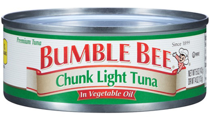 Bumble Bee recalls more than 31,000 cases of canned tuna