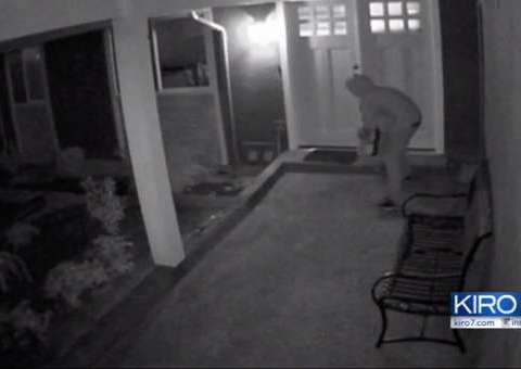 Seattle man invents device to deter package thieves