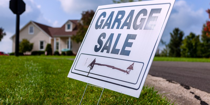 20 tips to help you have a profitable garage sale
