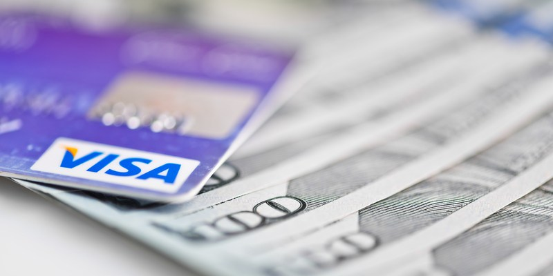 this is the only safe way to use a debit card - Visa Money Card