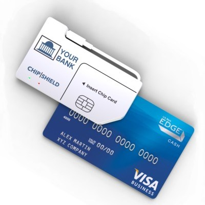 Chip Shield reduces the risk of getting your card number stolen online