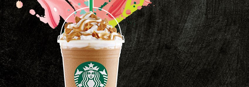 Get 50% off a Frappuccino at Starbucks!