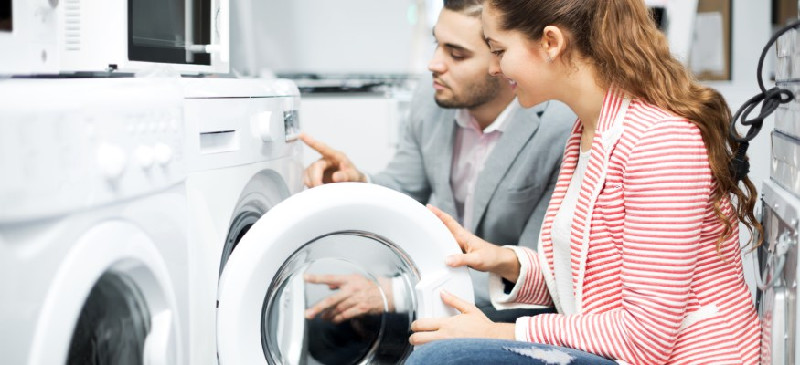 Clothes washer & dryer shopping