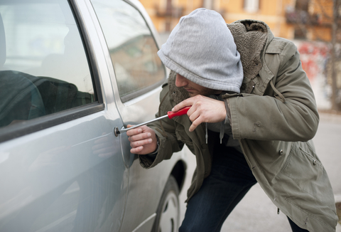 Top 10 cities for vehicle theft