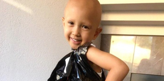 Creative 4-year-old transforms garbage bags into dresses to boost her confidence
