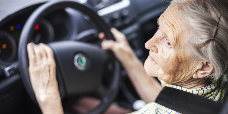 Most and least dangerous states for senior drivers