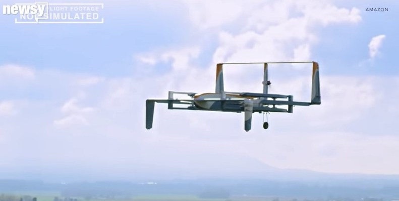 Amazon is finally going to test that drone delivery you heard about