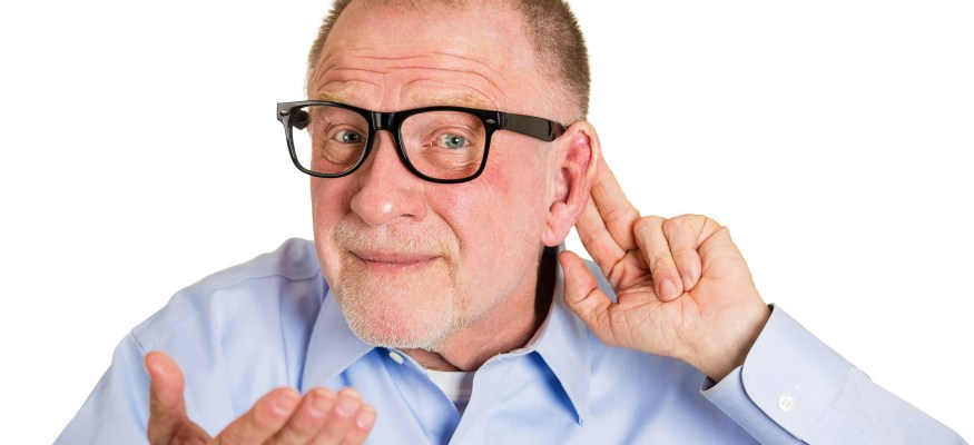 We might stop growing as we age, but our ears don't