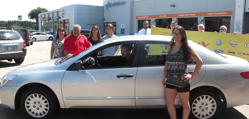 Man walks 16 miles daily for 2 jobs, gets free car