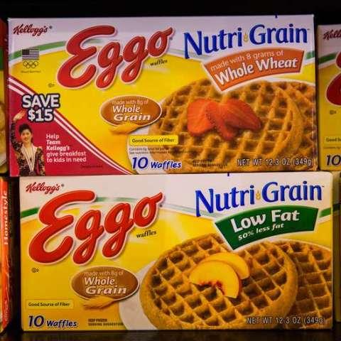10,000 cases of Eggo waffles recalled