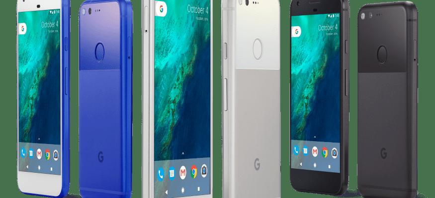 Google announces Pixel smartphone