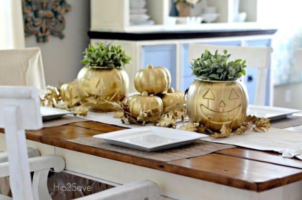 2 amazing hacks for dollar store plastic pumpkins