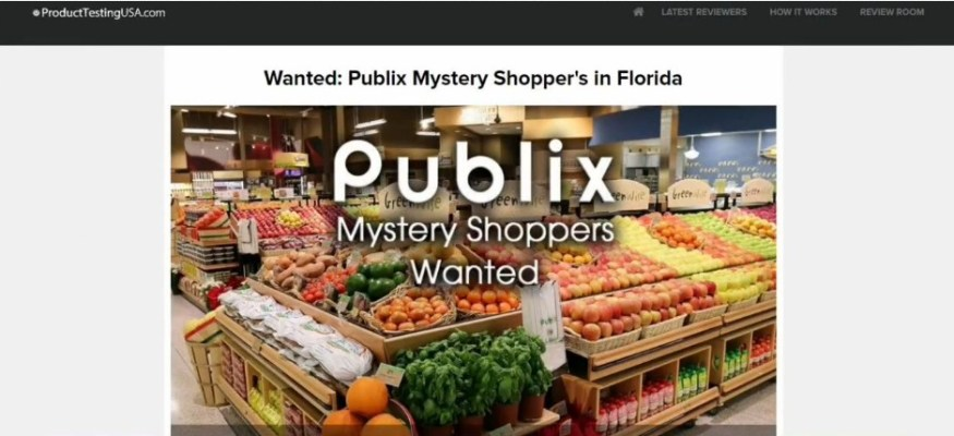 Publix mystery shopper scam making the rounds