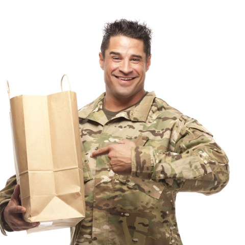 How to send coupons to the troops overseas