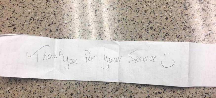 'Thank you for your service': Anonymous person buys fire station's groceries
