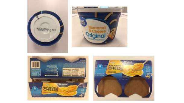 Great Value, other brand mac & cheese recalled