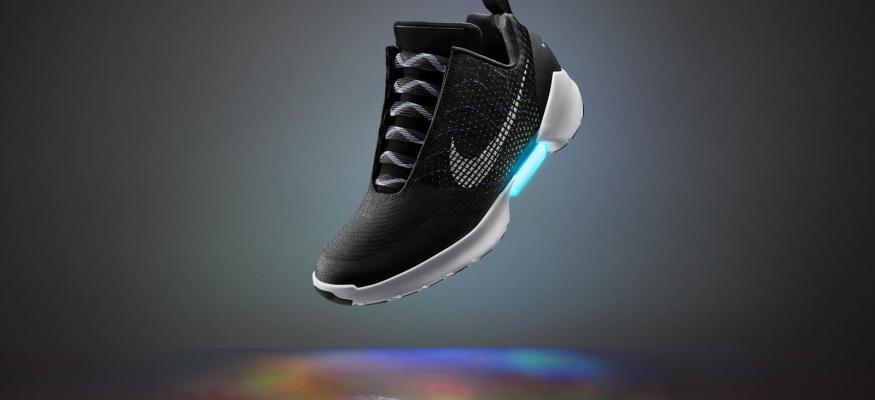 Clarkrageous moment: Nike's new $720 self-tying sneaker!
