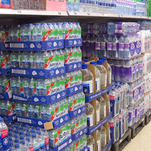 The overpriced bottle of water you just bought is probably tap water… Here's a cheaper alternative