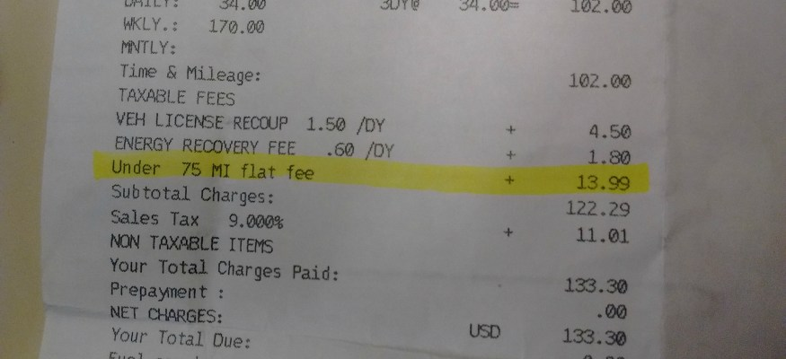 The $14 car rental junk fee that's so easy to avoid