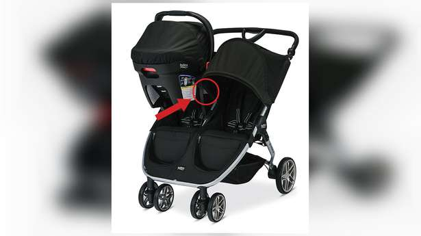 Britax recalls nearly 700,000 strollers after injury reports