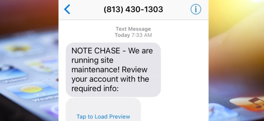 Warning: Scammers are using text messages to steal your bank