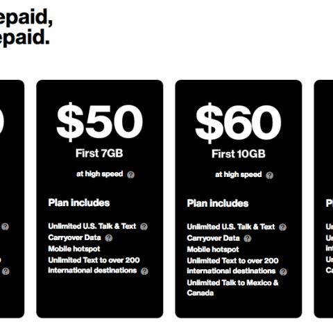 Verizon 3GB $40