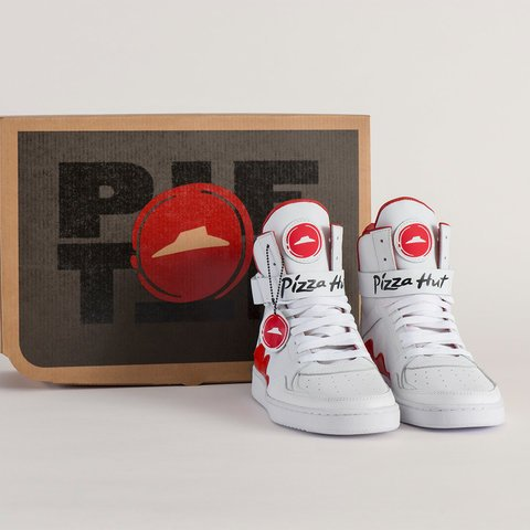 Ordering a pizza through your sneaker? Pizza Hut says yes!