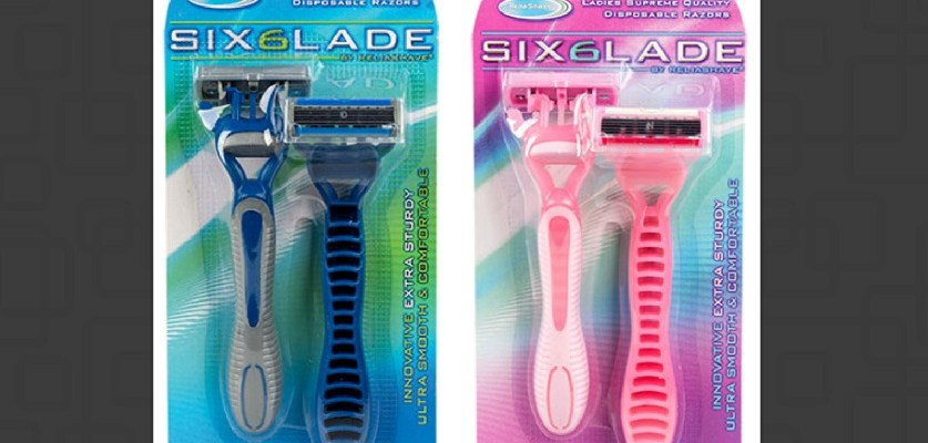 $1 razor blades from Dollar Tree