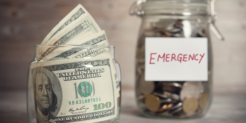 Emergency savings | Because life is unpredictable, and you need to be prepared for it