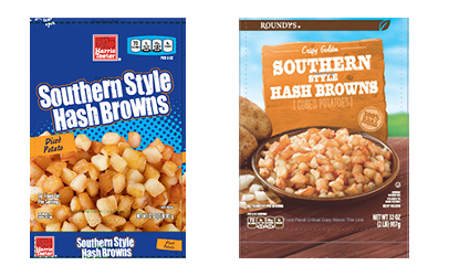 Harris Teeter and Roundy's recalled frozen hash browns