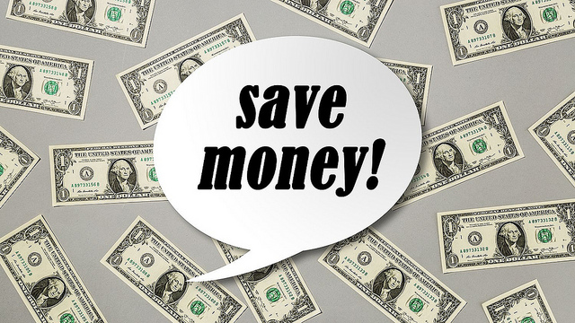 save money sign