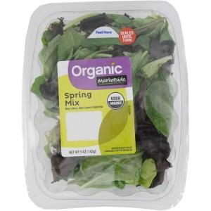 Salad mix recalled