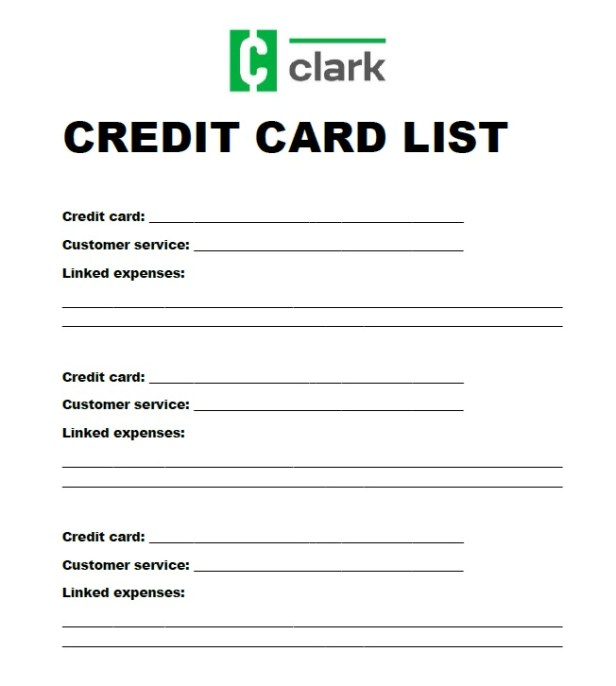 This simple list could save you if your credit cards are ...